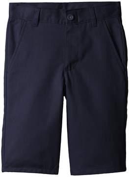 Nautica Slim Flat Front Twill Shorts Boy's Shorts