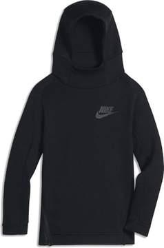 Nike Big Boys' (8-20) NSW Tech Fleece Pullover Hoodie-Black-Small