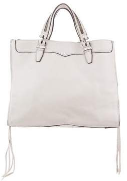Rebecca Minkoff Grained Leather Bag - NEUTRALS - STYLE