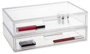 US Acrylic Audrey Cosmetic Organizer Standard Drawer - 2pk