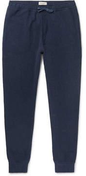 Oliver Spencer Loungewear Slim-Fit Textured-Cotton Sweatpants