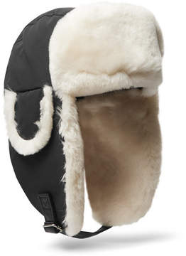 Canada Goose Shearling-Trimmed Shell Trapper Hat