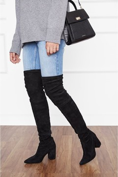 Anine Bing Taylor Boots Black Suede