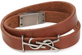 Saint Laurent Leather Belt Bracelet