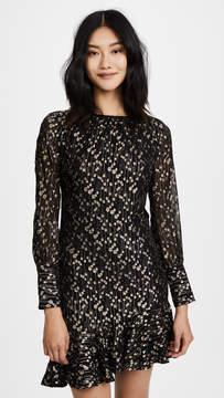 Derek Lam 10 Crosby Asymmetrical Ruffle Hem Dress