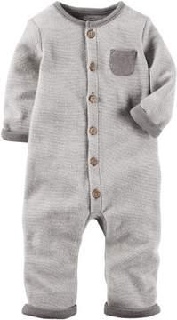 Carter's Baby Boys Little Peanut Jumpsuit