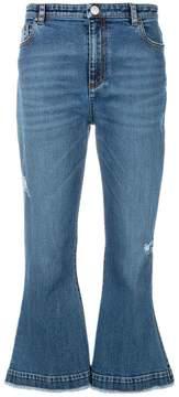 Antonio Berardi flared hem jeans