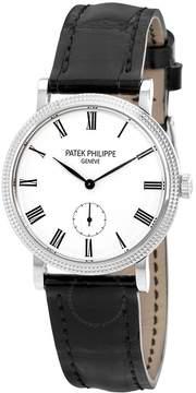 Patek Philippe Calatrava 31mm Mechanical White Dial Ladies Watch