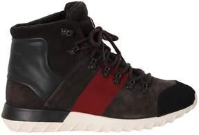 Moncler Taupe Brice Trekking Sneakers
