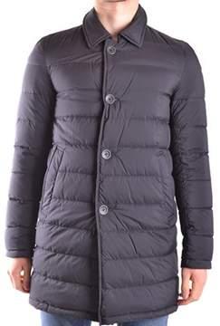 Herno Men's Black Polyester Down Jacket.