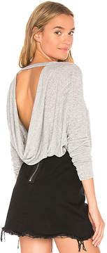 Bobi Open Back Sweater