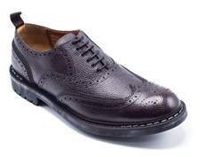 Givenchy Perforated Commando Brogues Brown Oxfords Shoes.