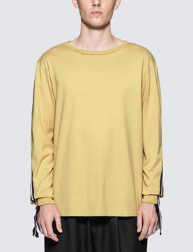 Facetasm Rib Long T-Shirt