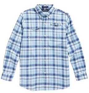 Vineyard Vines Boy's Harbor Plaid Shirt