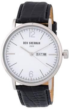 Ben Sherman Men's Big Portobello Professional Watch, 45mm
