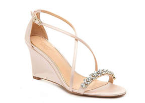 Badgley Mischka Little Wedge Sandal - Women's