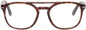 Persol Tortoiseshell Top Bar Glasses