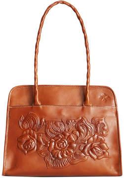 Patricia Nash Tooled Rose Paris Shoulder Bag