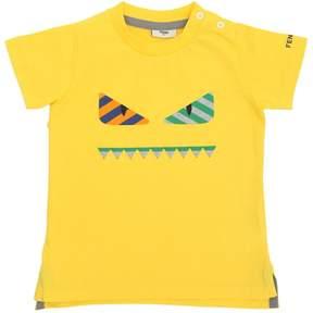 Monster Face Cotton Jersey T-Shirt