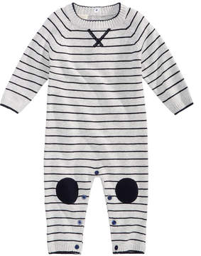 First Impressions Striped Cotton Sweater Coverall, Baby Boys (0-24 months), Created for Macy's