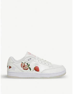 Nike Grandstand 2 Strawberries and Cream leather trainers