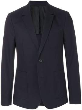 Ami Alexandre Mattiussi two buttons half-lined jacket