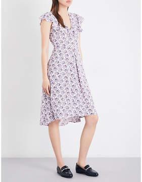 Claudie Pierlot Rosalie crepe dress