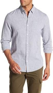Original Penguin Feeder Stripe Heritage Slim Fit Shirt