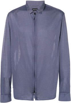 Giorgio Armani polka dot print shirt
