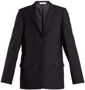 Jil Sander Emerson contrast-seam jacket