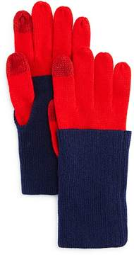 Aqua Fold-over Tech Gloves - 100% Exclusive