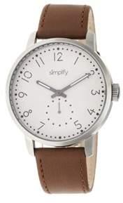 Simplify Men's The 3400 Quartz Watch.