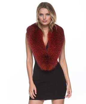 Andrew Marc Fox Fur Scarf