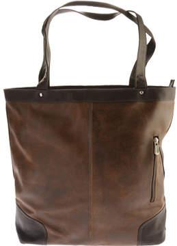 Piel Leather Vintage Vertical Tote 2987