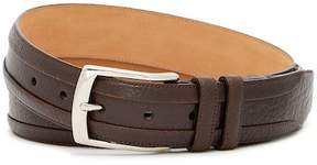 Mezlan One Pebbled Leather Belt