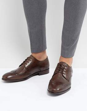 Red Tape Smart Brogues In Brown