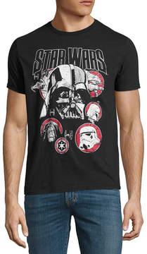 Star Wars Novelty T-Shirts Darth Main Focus Group Tee