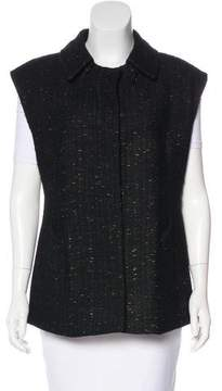 Lida Baday Wool Collared Vest
