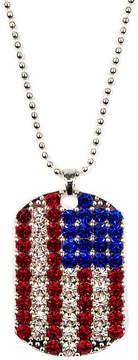 Carole Womens Multi Color Strand Necklace
