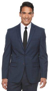 Van Heusen Big & Tall Flex Slim-Fit Plaid Stretch Suit Jacket
