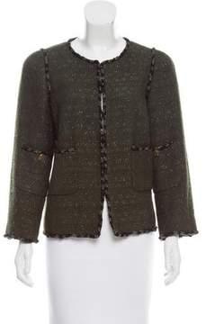 Chanel Paris-Shanghai Wool Jacket