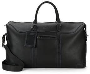 Robert Graham Textured Paisley Embossed Messenger Bag