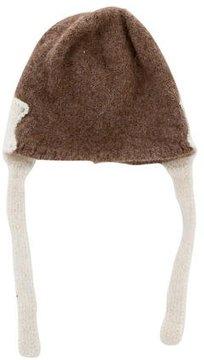 Oeuf Girls' Alpaca Knit Hat