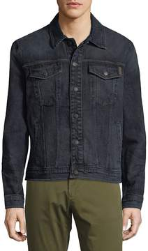 Joe's Jeans Men's Buttoned Denim Jacket