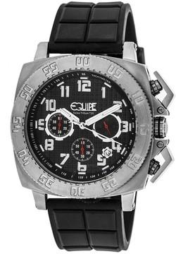 Equipe Tritium Push Chronograph Black Dial Men's Watch