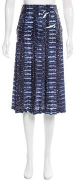 Dion Lee Pleated Printed Skirt w/ Tags