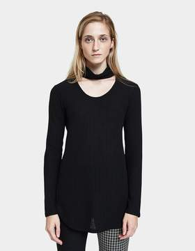 Which We Want Eva Top in Black