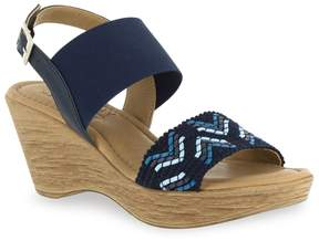 Easy Street Shoes Tuscany by San Remo Women's Wedge Sandals