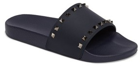 Valentino Men's Rockstud Slide Sandal