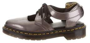Dr. Martens Patent Leather Lace-Up Oxfords